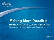 Making More Possible - Boston Scientific