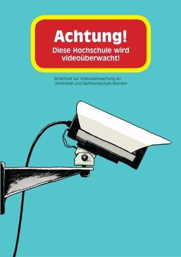 Videoüberwachungsbroschüre - AStA der Fachhochschule Münster