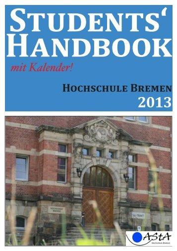 Deutsche Ausgabe - AStA der Hochschule Bremen