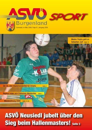 Ausgabe Februar 2009 - ASVÖ Burgenland