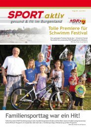 Ausgabe Juni 2013 - ASVÖ Burgenland