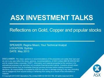 Slides - Australian Stock Exchange