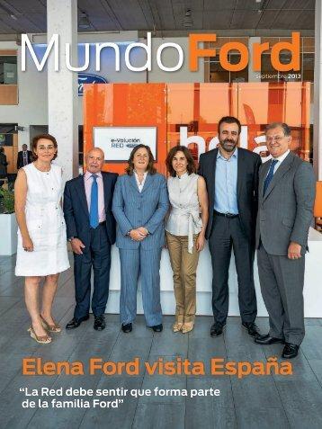 Elena Ford visita España