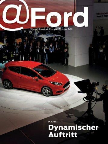 Dynamischer Auftritt - Ford