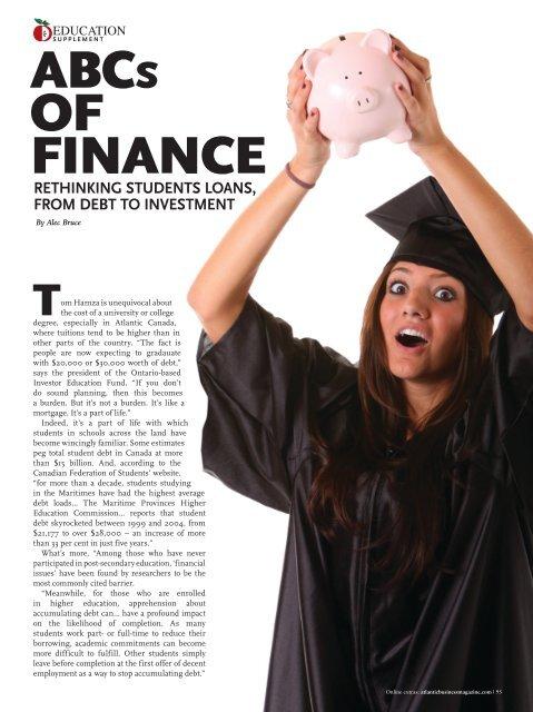 ABCS OF FINANCE - Atlantic Business Magazine