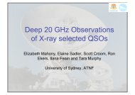 Deep 20 GHz Observations of X-ray selected QSOs