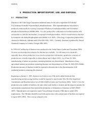Toxicological Profile for Diazinon