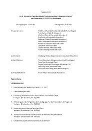 Niederschrift4. Sitzung der Zweckverbandsversammlung - Attendorn