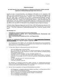 7-8 Allgemeinverfügung Genehmigung zur Beseitigung ... - Attendorn
