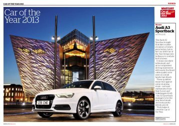 Car of the Year 2013 - Audi