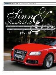 Auto Bild Sportscars 05/2010, Vergleich Audi S5 Sportback - PDF