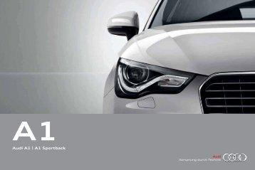 Audi A1 Katalog als PDF