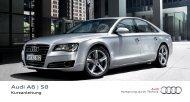 Kurzanleitung A8 - Audi