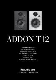 ADDON T12 - Audio Pro