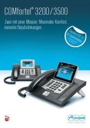 COMfortel® 3200/3500 - Auerswald
