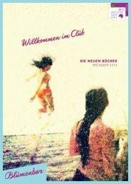 Blumenbar Frühjahr 2014 - Aufbau Verlag