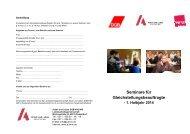 Programm 1. Halbjahr 2014 - Arbeit und Leben NRW