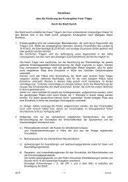 Förderung, Kindergärten freier Träger, Richtlinien - Stadt Aurich