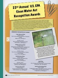 22nd Annual U.S. EPA Clean Water Act Recognition ... - City of Austin