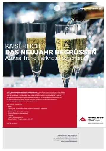 kaiserlicH das neujahr begrüssen - Austria Trend Hotels