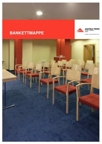 BANKETTMAPPE - Austria Trend Hotels