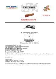 Kalenderwoche 19 - Auto-Modell-Report
