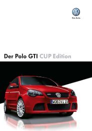 Der Polo GTI CUP Edition - Autohaus Perski OHG