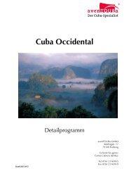 aven TOURa-Detailprogramm-Cuba-Occidental-ab-11-2013
