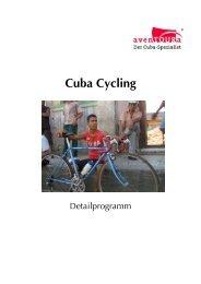 aven TOURa-Detailprogramm-Cuba-Cycling ab 11 2013