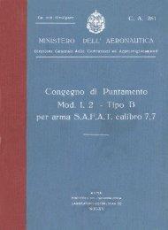 Congegno Puntamento Mod. 1.2 - AVIA