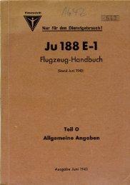 JU 188 E-l - AVIA