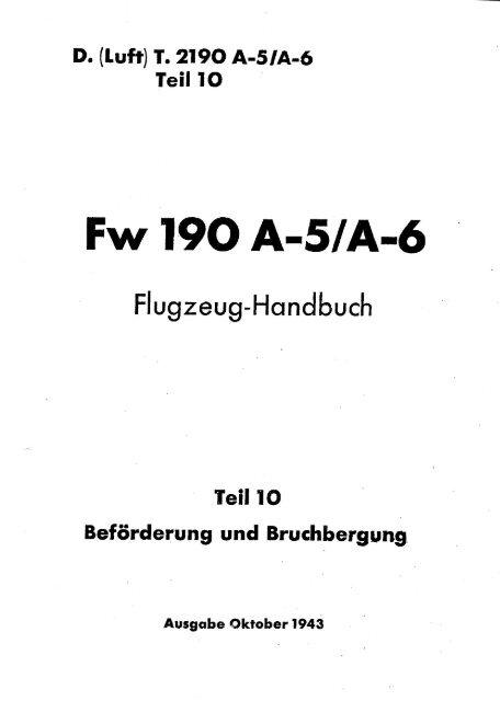 Fw 190 A-5lA-6 - AVIA