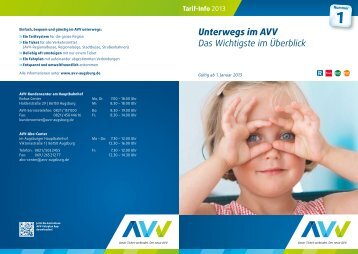 Download PDF - AVV Augsburger Verkehrsverbund