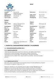 FSB Falkenberg strandbad dagkonferens Ramavtal 96 ... - Avropa.se