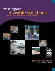 Invisible Backbone: - Association of Washington Cities