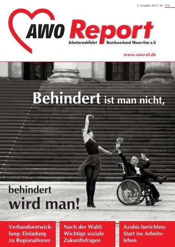 wird man! - AWO Bezirksverband Weser-Ems