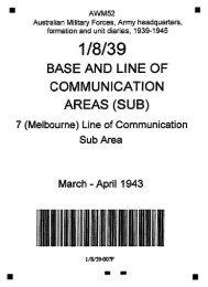 AWM52, 1/8/39/7 - March - April 1943 - Australian War Memorial