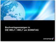 Basisinformationen Buchmarkt 2014 - Axel Springer MediaPilot