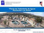 Planta de Tratamiento de Aguas Residuales Los Alisos