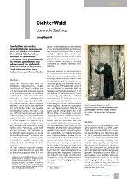 DichterWald - Literarische Streifzüge - B.I.T. online