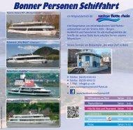 Fahrplanheft komplett 2013.pdf - Bonner Personen Schifffahrt
