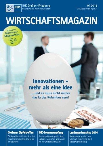 IHK-Wirtschaftsmagazin_Gießen-Friedberg 9/2013 - B4B ...