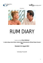 Rum Diary PresseheftV3 - Babylon Kino