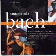 Bach Cantatas, Vol. 2 - F. Werner (Erato 10-CD)