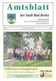 Ausgabe 6/2013 - Kurstadt Bad Berka