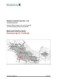 Begründung 130 - Bad Homburg