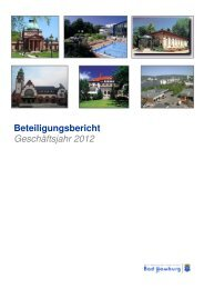 Beteiligungsbericht Geschäftsjahr 2012 - Bad Homburg