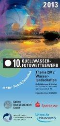QUELLWASSER- FOTOWETTBEWERB - Bad Sassendorf