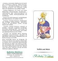 Download Trüffel und Wein - Badisches Weinhaus München