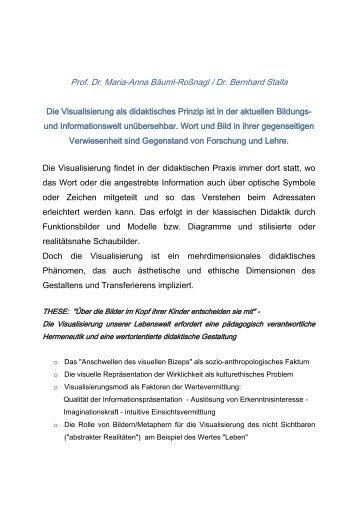Projektbeschreibung - Baeuml-rossnagl.de